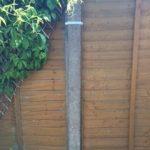Panneau de Clôture Supports de Sécurité pour poteaux en bois ou en béton Lot de 10 de la marque Postclamp image 4 produit