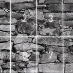 PAPIER PEINT PHOTO ,,Black & White Stonewall 103' 366cm x 254cm pierre brique colle inclu PHOTO MURAL Tableaux muraux déco XXL de la marque livingdecoration image 2 produit
