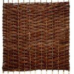 Papillon Fagot de Saule barrières tressé 3 m (91,4 cm)-Panneau de clôture de la marque Primrose image 1 produit
