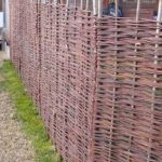 Papillon Fagot de Saule barrières tressé 3 m (91,4 cm)-Panneau de clôture de la marque Primrose image 3 produit