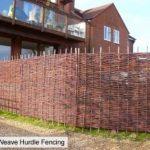 Papillon Fagot de Saule barrières tressé 3 m (91,4 cm)-Panneau de clôture de la marque Primrose image 4 produit