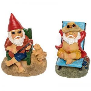 Patio Eden - Nain de Jardin - Mini gnomes de plage de la marque Patio Eden image 0 produit