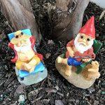 Patio Eden - Nain de Jardin - Mini gnomes de plage de la marque Patio Eden image 1 produit