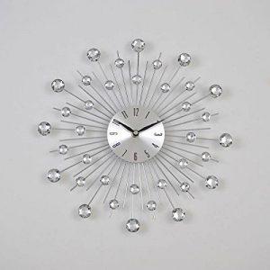 PEARL Horloge murale soleil design métal Ø33 cm argenté de la marque Générique image 0 produit