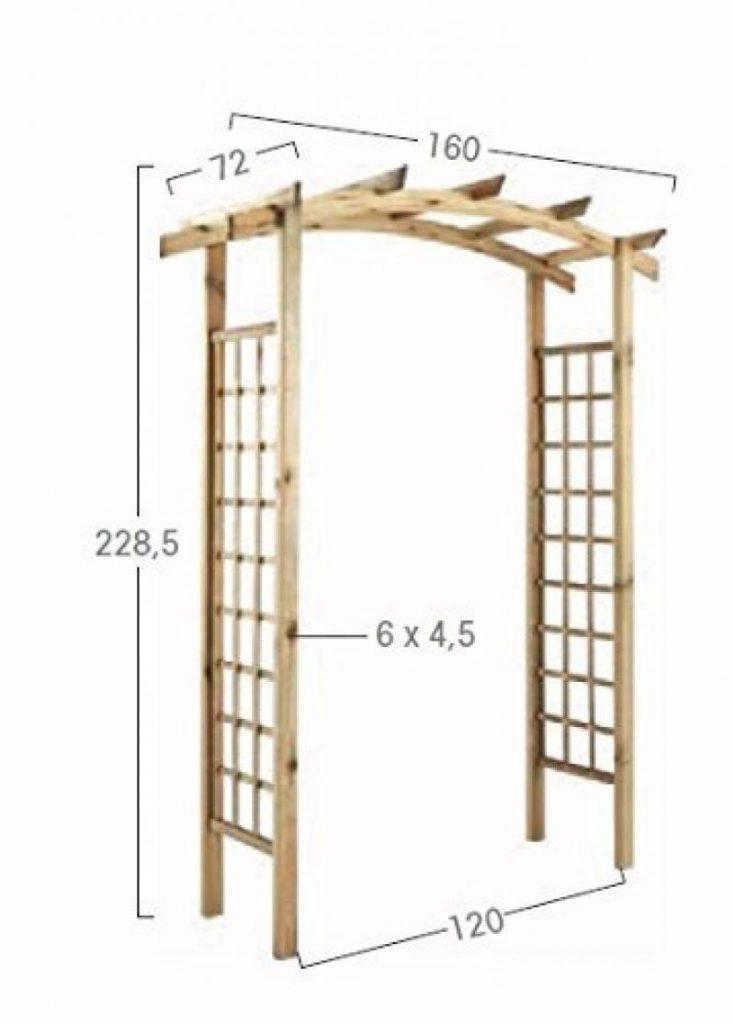 pergola bois votre comparatif pour 2018 d co terrasse. Black Bedroom Furniture Sets. Home Design Ideas