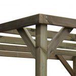 Pergola en bois traité 240x 240x 240cm de la marque AD servicios image 3 produit