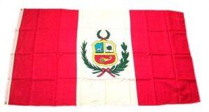 Pérou drapeau avec drapeau de 150 x 90 cm de la marque FahnenMax® image 0 produit
