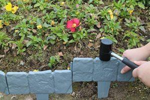 PestExpel® 10 paquets d'épaisseur en pierre pavée gris jardin bordure de pelouse de la marque PestExpel® image 0 produit