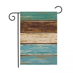 PeteGray planchettes en bois rustique Jardin Maison de drapeaux décoratifs Drapeau double face Yard Drapeau Bannière drapeaux de vacances Décorations de fête pour l'extérieur 12x 18 de la marque PeteGray image 0 produit