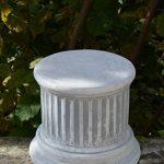 Petit, socle piédestal pilier de pierre en fonte, résistant au gel de la marque gartendekoparadies.de image 1 produit