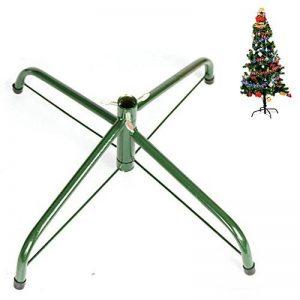 Pied de sapin de Noël en fer Ouvin 45,7cm, diamètre 1,2 m, coussin en caoutchouc avec vis , Métal, Green, Taille L de la marque Ouvin image 0 produit