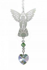 Pierre De Naissance Ange Attrape Soleil Avec Swarovski Cristaux - Auguste - Peridot de la marque Emblems-Gifts image 0 produit
