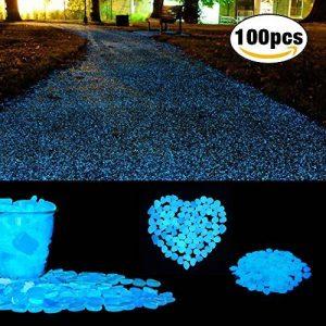 Pierres décoratives, Cozzine Glow Galets pour décor, jardin, aquariums, Sable, synthétique de la marque Cozzine image 0 produit