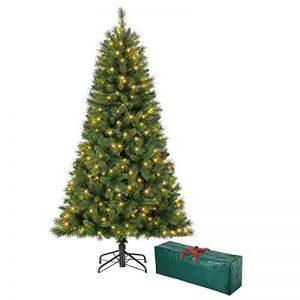 Polygroup Sapin de Noël Vert Lumineux 150 cm avec sac de rangement de la marque Polygroup image 0 produit