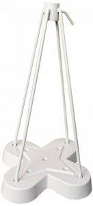 POMPES GRILLOT Pied de Parasol Trèfle Blanc 62 x 30 x 30 cm 120.001 de la marque POMPES GRILLOT image 0 produit