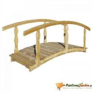 pont bois jardin TOP 1 image 0 produit