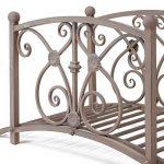 Pont de décoration, métal façon rouillé, livré non monté, inclus matériel de montage, facile à monter de la marque amelex 67 image 3 produit