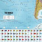 Poster XXL Carte du monde avec drapeaux - 2018 - MAPS IN MINUTES® (140cm x 100cm) de la marque Up Close image 5 produit