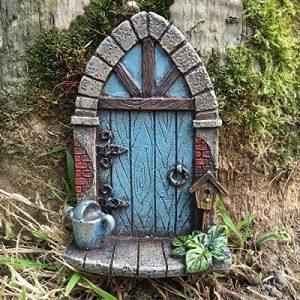 Prezents Décoration miniature en forme de porte d'elfe ou de fée pour arbre/jardin/maison Hauteur 9 cm de la marque Prezents.com image 0 produit