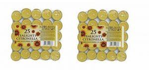 PRICES CITRONELLA TEALIGHTS PACK OF 25 [2] de la marque Prices Candles image 0 produit