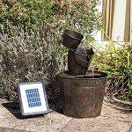 Primrose Solar Metal Bucket Cascade - H49cm - by Solaray de la marque Primrose image 1 produit