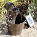 Primrose Solar Metal Bucket Cascade - H49cm - by Solaray de la marque Primrose image 3 produit