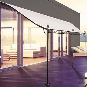 ProBache - Auvent pergola adossé pour terrasse GM 3 x 4 m avec toile écrue de la marque Probache image 0 produit