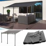 Probache Auvent pergola adossé pour terrasse GM 3 x 4 m avec toile grise de la marque Probache image 2 produit