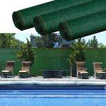 ProBache - Brise vue renforcé 1,5 x 10 m vert 220 gr/m² luxe pro de la marque Probache image 3 produit