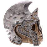 Puckator SK221 Crâne de décoration portant Casque de gladiateur Résine Beige/Gris/Noir 18 x 12,5 x 17,5 cm de la marque Puckator image 3 produit