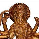 Purpledip hindou religieux Déesse Durga MA Statue: sculptée en laiton massif en métal pour maison Temple, bureau Table ou magasin Pūjā étagère | hindou religieux Cadeau (10681) de la marque Purpledip image 1 produit