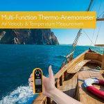 Pyle Anémomètre numérique Noir + coque protection jaune de la marque Pyle image 1 produit