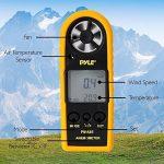 Pyle Anémomètre numérique Noir + coque protection jaune de la marque Pyle image 3 produit