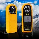 Pyle Anémomètre numérique Noir + coque protection jaune de la marque Pyle image 4 produit