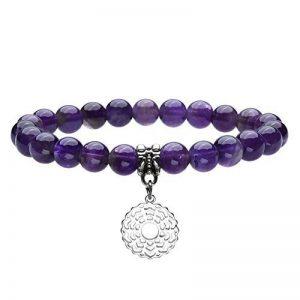 QGEM Bracelet en 7 Chakra Pierre Naturelle Yoga Inde Méditation Healing Balance Chromothérapie d'Energie pour Femme Homme de la marque QGEM image 0 produit