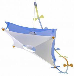 R&M Coudert Lampe de Plafond Suspension Chambre Enfant Cerf-Volant Bleu de la marque R&M Coudert image 0 produit