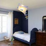 R&M Coudert Lampe de Plafond Suspension Chambre Enfant Cerf-Volant Bleu de la marque R&M Coudert image 2 produit