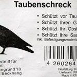 Rabe/krähe/taubenschreck/suspension pour effaroucher les oiseaux/épouvantail 38 cm noir de la marque Hillfield image 1 produit