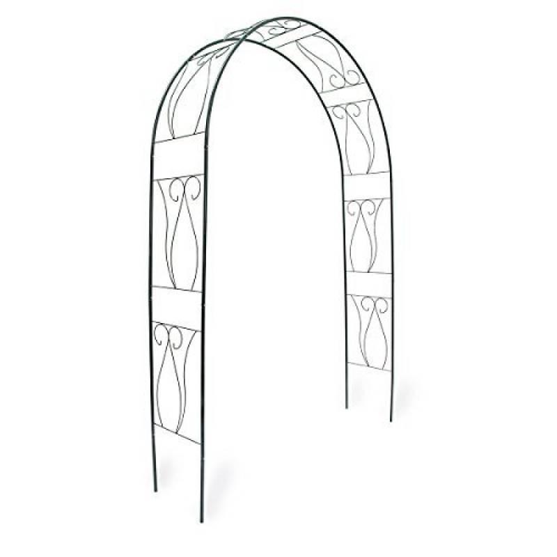Gardman Arche gothique de jardin 2,95 x 1,4 m Décoration d ...