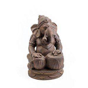 Repose St10202798Tabla Ganesha extérieur Statues de la marque Repose image 0 produit