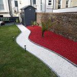 rockincolourtm Rouge Piment Pierre de jardin décorative 420x620x300 rouge de la marque RockinColourTM image 2 produit