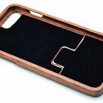 RoseFlower® Coque iPhone 8 4.7'' en Bois Véritable - Sapin de Noël de palissandre - Fabriqué à la main en Bois / Bambou Naturel Housse / Étui de la marque RoseFlower image 4 produit