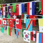 Rosepoem 2018 Coupe du Monde de la FIFA 32 Teams Flag Coupe du monde de Russie 2018 Total 32pcs Drapeaux Multicolore de la marque Rosepoem image 6 produit