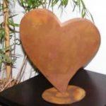Rostikal Décoration Extérieure - Coeur métal rouille de la marque Rostikal image 2 produit