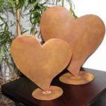 Rostikal Décoration Extérieure - Coeur en métal rouillé de 23 cm de la marque Rostikal image 2 produit