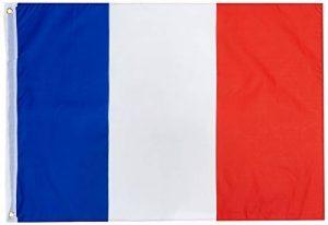 Rubies 170267 - Drapeau France - 90 x 60 cm de la marque Rubies image 0 produit