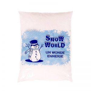 Sachet de neige artificielle - Un monde enneigé - environ 3 litres – neige intérieur / extérieur décorative – Décoration de Noël – Fausse neige pour décorer votre maison de la marque Artecsis image 0 produit