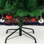 Sapin de Noël avec décoration pommes de pins et neige artificielle - 180cm de la marque Deuba image 1 produit