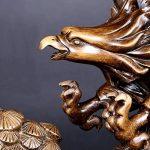 Sculpture Aigle, Designer Figure Sculpture, Figurines et Statues Artisanat d'Ornement pour Maison Salon Décoration de Bureau / Pièce Centrale Décorative - Art Décor de la marque JDYee image 4 produit