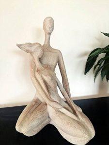 Sculpture couple assis enlacés de la marque CASABLANCA image 0 produit
